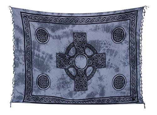Kascha Trading - Camisola - para mujer Keltisch Grau Batik