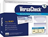 VersaCheck Security Personal Check Refills: Form #3001 Personal Wallet - Blue - Premium - 250 Sheets