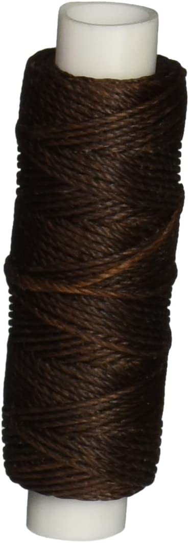 Waxed Nylon Thread Brown 25 yds. 22.9 m Tandy Leather 1227-02