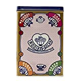 Rooibos Tea Bag Sampler Tin - 40 Caffeine Free, Organic Herbal Tagless Tea Bags, Variety Assortment with 4 Flavors, incl' Rooibos Chai and Honeybush