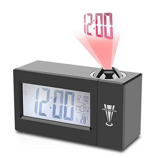 BANESE Despertador Proyector - Proyector LCD De Tiempo Pantalla ...