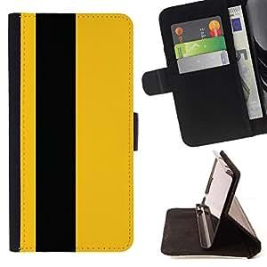 For LG G4 Stylus / G Stylo / LS770 H635 H630D H631 MS631 H635 H540 H630D H542 Case , Negro raya minimalista Vertical- la tarjeta de Crédito Slots PU Funda de cuero Monedero caso cubierta de piel