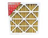 20x20x2 MERV 11 (MPR 1000) AC Furnace 2'' Inch Air Filter - 3 Pack