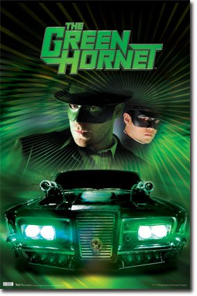 green hornet one sheet superhero