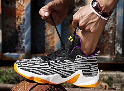 JiYe Performance Sportschuhe Herren Basketball Fashion Sneakers Grau