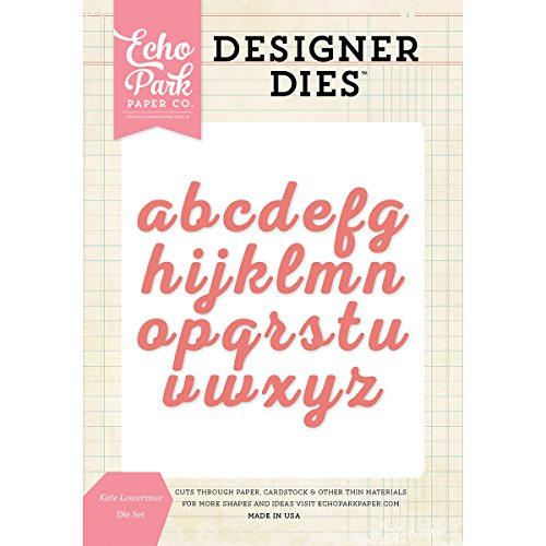 (Echo Park Paper Company EPPDIE621 Kate Lowercase Die Set)