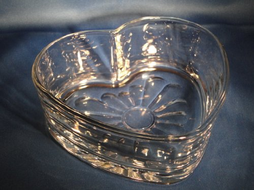 Libbey Heart Shaped Glass Candy ()