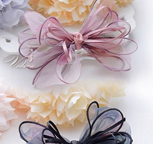 Generic Hair Weiduo La Korean silk yarn bow