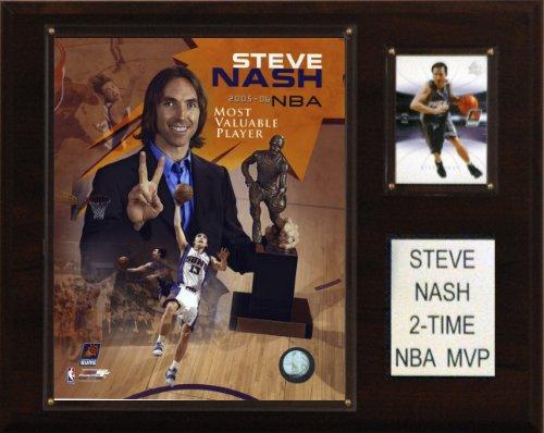 (NBA Steve Nash 2 Time NBA MVP Phoenix Suns Player Plaque)