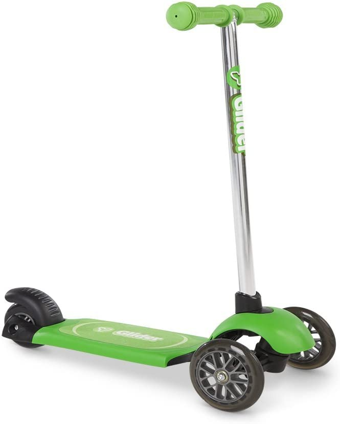 Yvolution Official – Y Glider Neon Green Kids Scooter