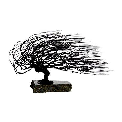 Bonsaiboy Wire Bonsai Tree Sculpture - Windswept Style