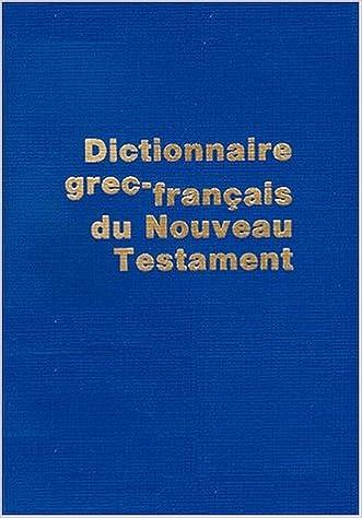 Top Livres Telechargement Gratuit Dictionnaire Grec Francais