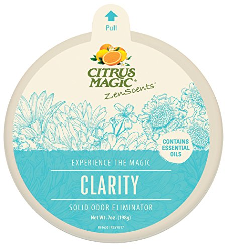(Citrus Magic ZenScents Aromatherapy Solid Air Freshener Clarity, Pack of 3, 7-Ounces Each)