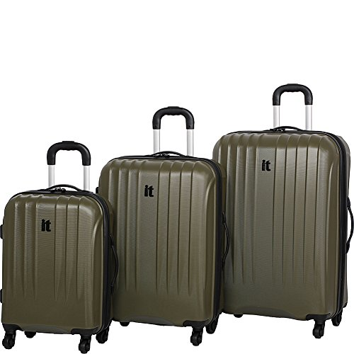 it luggage Air 360 3PC Luggage Set - Exclusive (Dark Olive) by IT Luggage