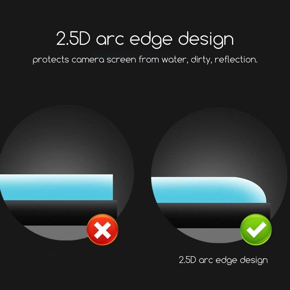 Anti-Shock Tempered Glass Lens Screen Film Protector for OSMO Action Camera Senyar Camera Screen Protector