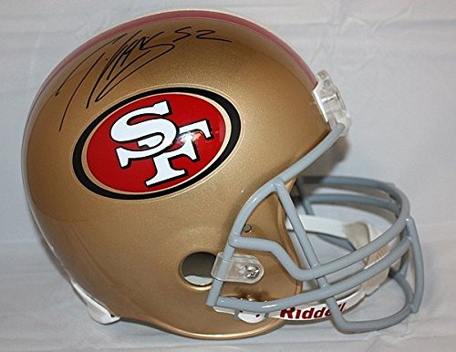 Patrick Willis Signed Full Size San Francisco 49ers Helmet - JSA Authenticated - Autographed NFL Football Helmets