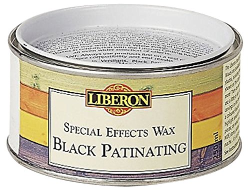 Liberon Black Patinating Special Effects Wax 250ml - 250 Effect