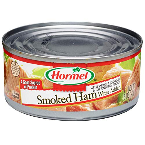 Hormel Canned Chunk Smoked Ham, 5 Ounce (Pack of 12) (Best Ham For Dinner)