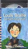 louis braille l enfant de la nuit 1 livre 1 cd audio