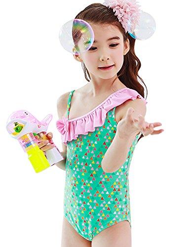 8959e57fc9d7e (ビメイゴー) Bmeigo 水着 女の子 子供 ワンピース 水着 つなぎ 一体式 スイミングウェア スイムウェア