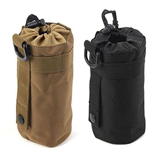 Im Freien taktisches Milit_r Camping Wandern Tasche Wasserflasche Bag Kettle Pouch