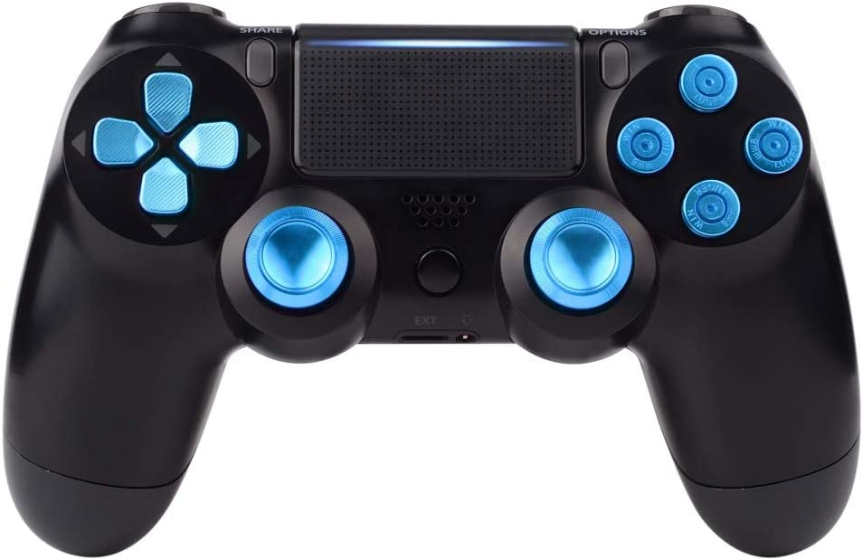 eXtremeRate Teclas de Repuesto para Controlador PS4 Botones ...