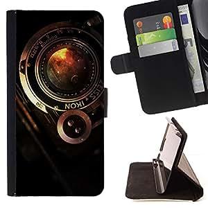 Momo Phone Case / Flip Funda de Cuero Case Cover - Cámara Zeiss vintage;;;;;;;; - HTC DESIRE 816