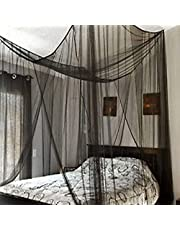 4 Corner Bed Canopy Mosquito Net Extra-Larg Bed Mosquito Netting Mesh Canopy Bedding Net Fit Twin, Full, Queen, King Bed 190X210X240CM
