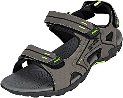 High Colorado Bolzano Sandals Grey/Black Size 42 2018