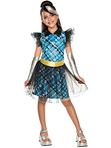 Rubie's Costume Monster High Frankie Stein Child Costume, (Monster High Frankie Stein Wig)