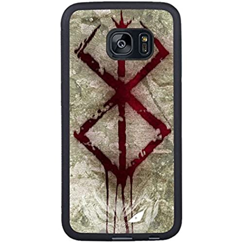 Berserk Stigma Black Shell Phone Case Fit For Samsung Galaxy S7 Edge,Beautiful Cover Sales