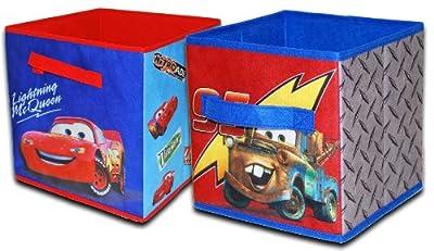 Disney Cars Storage Cubes, 2-Pack