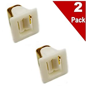 (2 Pack) EXP571 Dryer Door Catch Replaces 131658800, AP2107362, PS418433, 5307521419