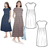 Style Arc Sewing Pattern - Montana Midi Dress