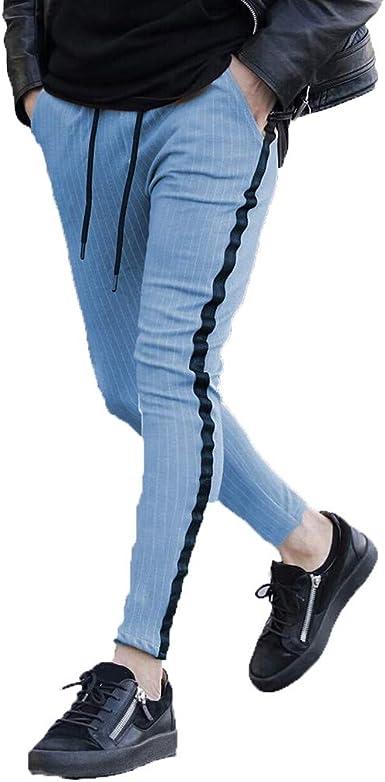 Sylar Pantalones Largos Hombre Pantalones De Estampado Letra ...