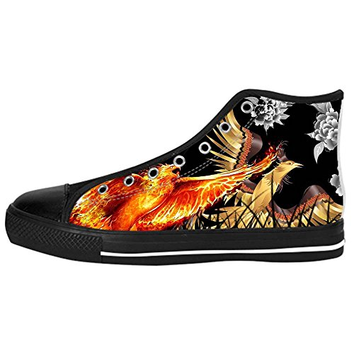 Custom Giulz in Smile Mens Canvas shoes I lacci delle scarpe in Alto sopra le scarpe da ginnastica di scarpe scarpe di Tela.