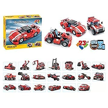 ingenious toys branded vehicle creation 23 in 1 create 23 sets