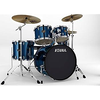 tama ip52kcmnb imperialstar 5 piece complete drum kit with 22 bass drum hardware. Black Bedroom Furniture Sets. Home Design Ideas