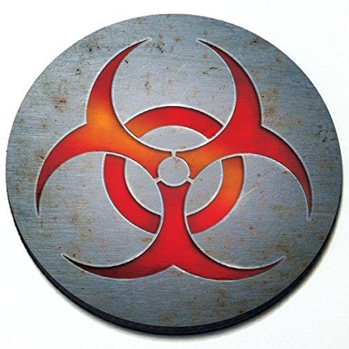 Biohazard - Magnetic Grill Badge For MINI Cooper ()