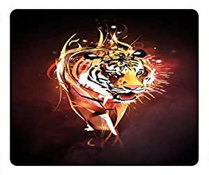 Tiger Design Rectangular Mouse Pad Whirlwind