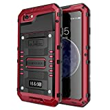 iPhone 6 Waterproof Case, Seacosmo Full Body Protective Shell with Built-in Screen Protector