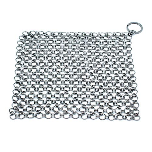 NYKKOLA Stainless Chainmail Scrubber Pre Seasoned product image