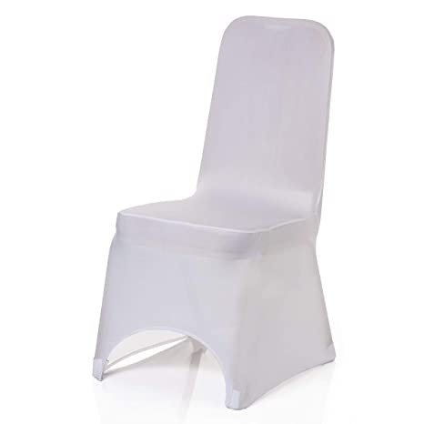 Cool Trimming Shop Spandex White Chair Cover Stretch Fabric Removable Washable Protective Slipcovers For Weddings Banquets Ceremony Hotel Dining Parties Caraccident5 Cool Chair Designs And Ideas Caraccident5Info