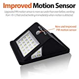 SOLVAO Solar Motion Detector Light (Upgraded) - 26