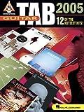 Guitar Tab 2005, Hal Leonard Corp., 1423401522