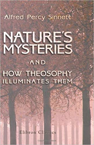 Book Nature's Mysteries, and How Theosophy Illuminates Them