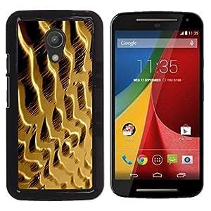 Be Good Phone Accessory // Dura Cáscara cubierta Protectora Caso Carcasa Funda de Protección para Motorola MOTO G 2ND GEN II // Dunes Sand Desert