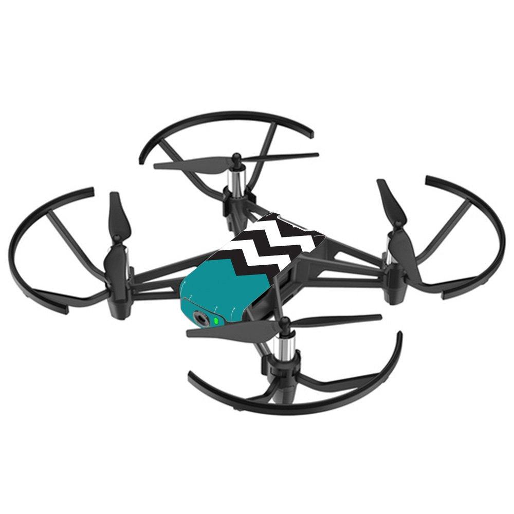 MightySkins スキンデカールラップ DJIステッカー保護カバー 100種類のカラーオプションに対応, DJI Mavic 2 Pro or Zoom, DJMAVPR18-Lime Chevron B07DGPYXTZ DJI Tello Drone Teal Chevron Teal Chevron DJI Tello Drone