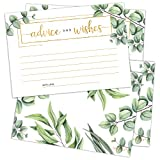 Keep your guests entertained and get their advice and wishes with this unique Advice and Wishes Card set.  These beautiful keepsake cards will be cherished for many years to come.   Product details:   -  Pack of 50  - enough cards for everyone  -  Hi...