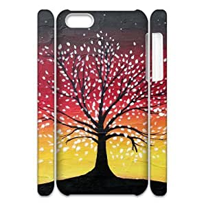 ALICASE Design Diy hard Case Tree of Life For Iphone 4/4s [Pattern-1]